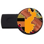 colordesign-391598 USB Flash Drive Round (4 GB)