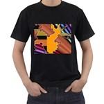 colordesign-391598 Black T-Shirt