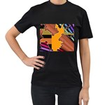 colordesign-391598 Women s Black T-Shirt
