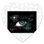 eye-538468 Jigsaw Puzzle (Heart)