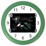 eye-538468 Color Wall Clock