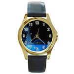 futur2-630637 Round Gold Metal Watch
