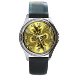 gold-260221 Round Metal Watch