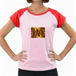 gold-260221 Women s Cap Sleeve T-Shirt