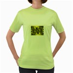 gold-260221 Women s Green T-Shirt