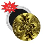 gold-260221 2.25  Magnet (10 pack)
