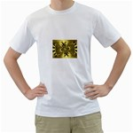 gold-260221 White T-Shirt
