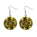 gold-260221 1  Button Earrings