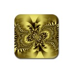 gold-260221 Rubber Coaster (Square)