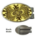 gold-260221 Money Clip (Oval)