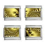 gold-260221 9mm Italian Charm (4 pack)