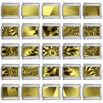gold-260221 9mm Italian Charm (25 pack)