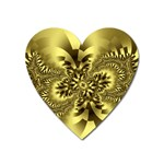 gold-260221 Magnet (Heart)