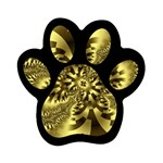gold-260221 Magnet (Paw Print)