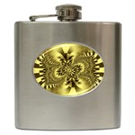 gold-260221 Hip Flask (6 oz)
