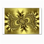 gold-260221 Postcard 4 x 6  (Pkg of 10)