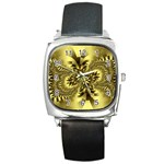 gold-260221 Square Metal Watch