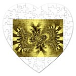 gold-260221 Jigsaw Puzzle (Heart)