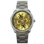 gold-260221 Sport Metal Watch