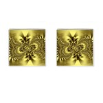 gold-260221 Cufflinks (Square)