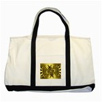 gold-260221 Two Tone Tote Bag