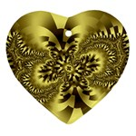 gold-260221 Heart Ornament (Two Sides)