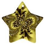 gold-260221 Star Ornament (Two Sides)