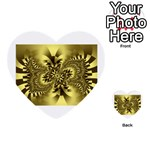 gold-260221 Multi-purpose Cards (Heart)