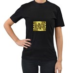 gold-260221 Women s Black T-Shirt