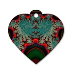 Grimbala-954205 Dog Tag Heart (Two Sides)