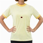 intensive_liquid-104671 Women s Fitted Ringer T-Shirt