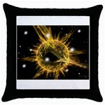 ikon06b-42458 Throw Pillow Case (Black)