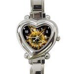 ikon06b-42458 Heart Italian Charm Watch