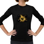 ikon06b-42458 Women s Long Sleeve Dark T-Shirt
