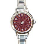 mind_chaos-P1-124543 Round Italian Charm Watch