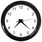 poison-917756 Wall Clock (Black)