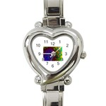 poison-917756 Heart Italian Charm Watch