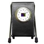 poison-917756 Pen Holder Desk Clock