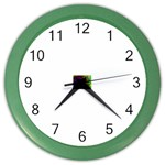 poison-917756 Color Wall Clock