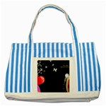 1024-feb-752974 Striped Blue Tote Bag