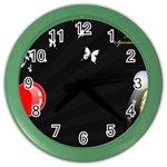 1024-feb-752974 Color Wall Clock