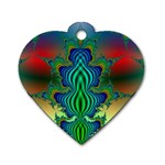 adamsky-416994 Dog Tag Heart (One Side)