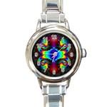 adamsky-416994 Round Italian Charm Watch