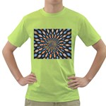 Art-Rings-864831 Green T-Shirt