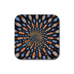 Art-Rings-864831 Rubber Square Coaster (4 pack)