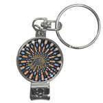 Art-Rings-864831 Nail Clippers Key Chain