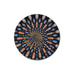 Art-Rings-864831 Rubber Round Coaster (4 pack)