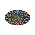 Art-Rings-864831 Sticker (Oval)