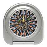 Art-Rings-864831 Travel Alarm Clock