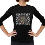 Art-Rings-864831 Women s Long Sleeve Dark T-Shirt